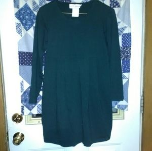 Motherhood Maternity long sleeve green tunic small